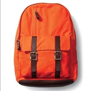 GQ for Gap orange backpack